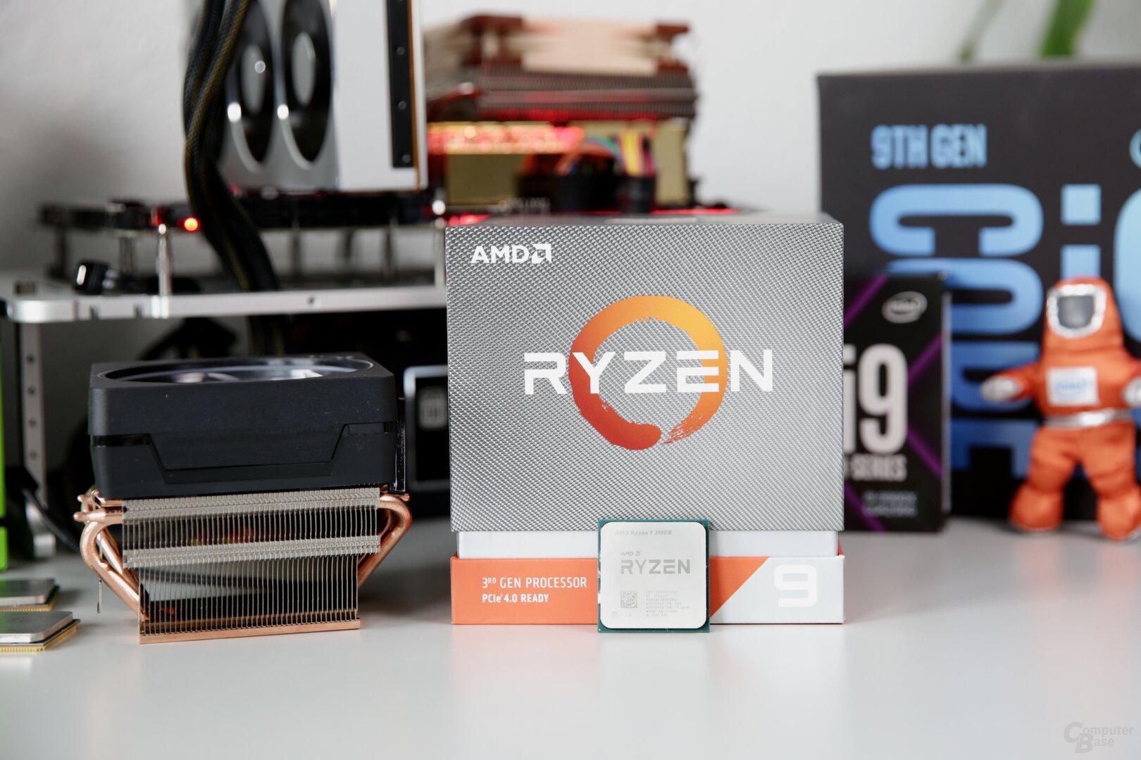 AMD Ryzen 9 3900X mit Boxed-Kühler Wraith Prism