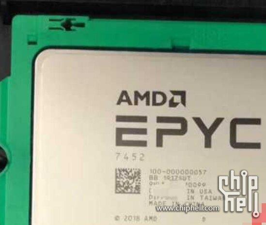 AMD Epyc 7452 der Rome-Generation mit Zen 2