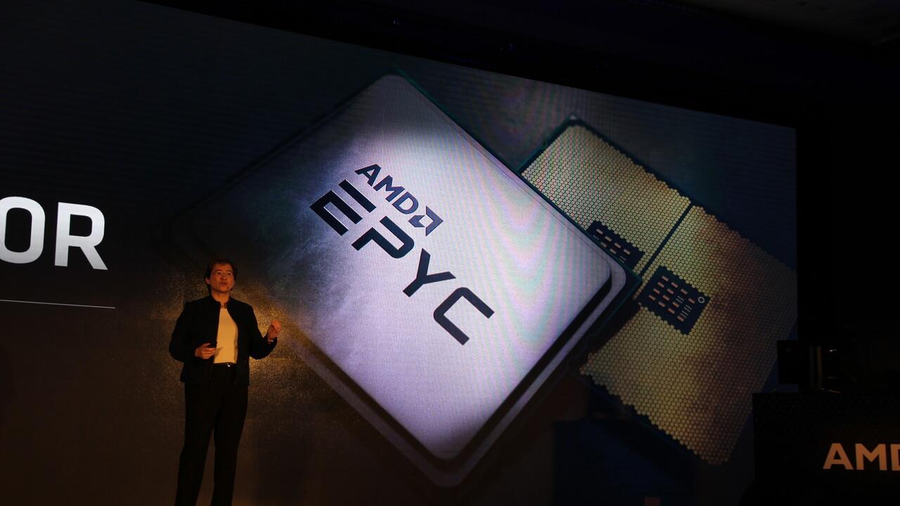 AMD Epyc 7452: Rome-CPU mit 32Kernen und 2,35GHz gesichtet