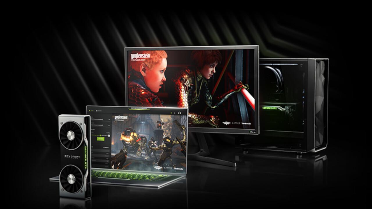 GeForce RTX: Wolfenstein Youngblood im Bundle mit Nvidia Turing