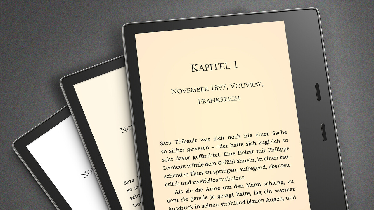 E-Book-Reader: Neuer Amazon Kindle Oasis passt die Farbtemperatur an