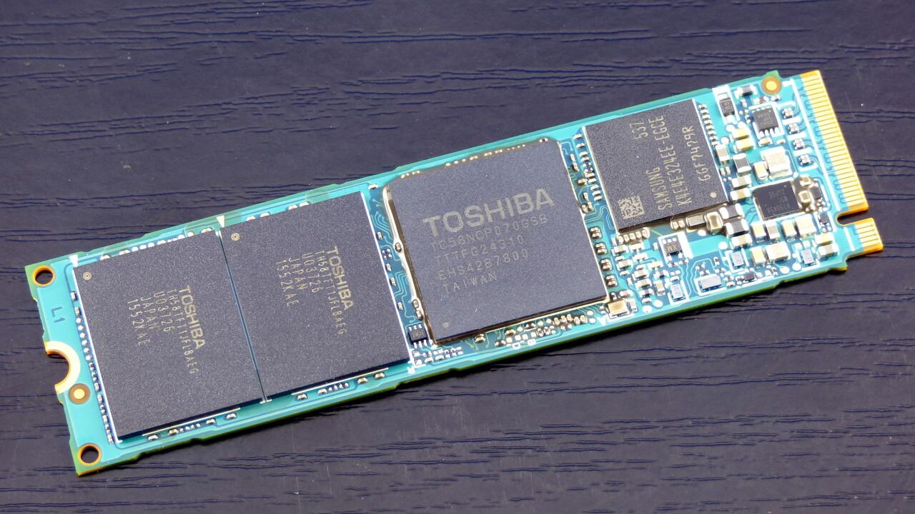 NVMe-SSDs: Toshiba testet Prototypen mit PCIe 4.0