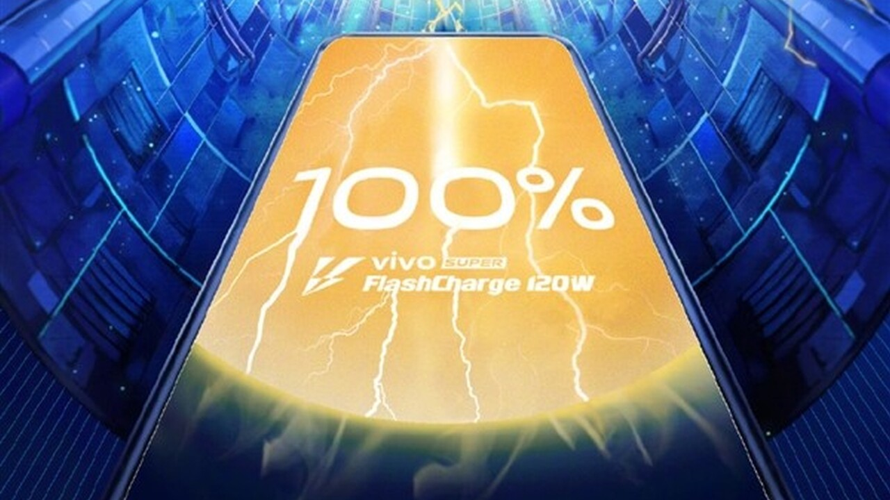 Super FlashCharge: Vivo lädt 4.000 mAh mit 120 Watt in 13 Minuten