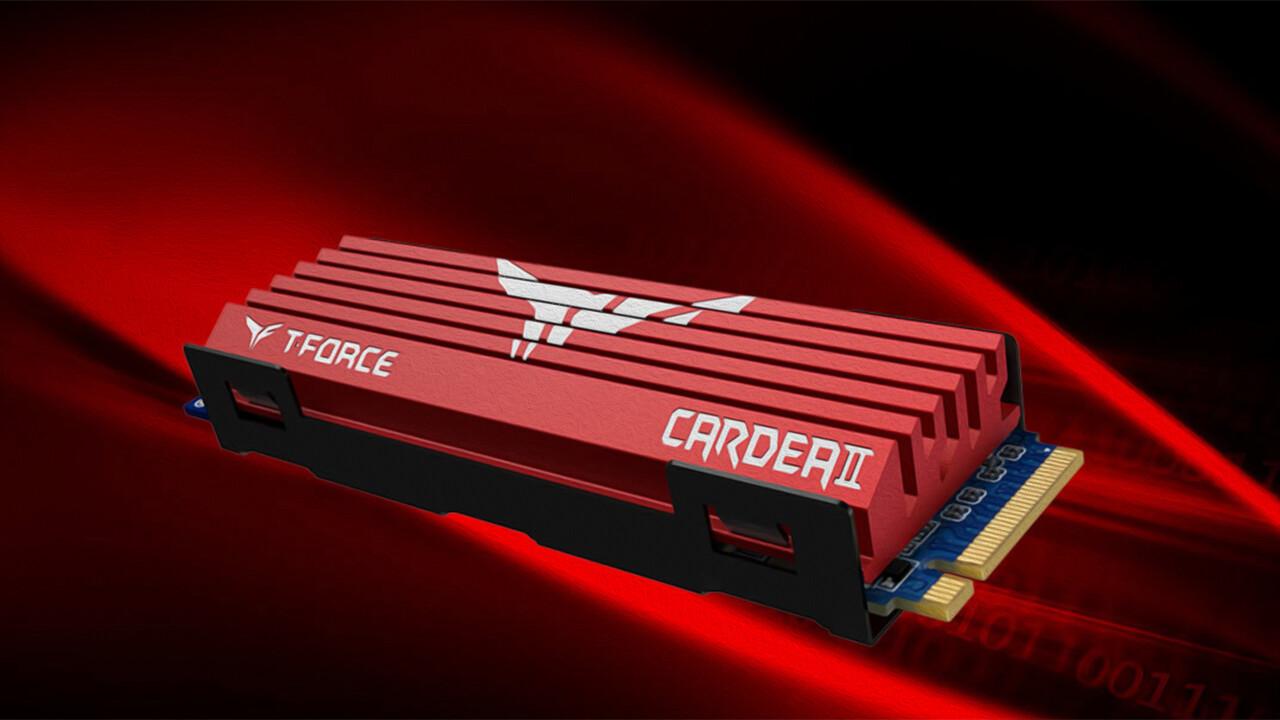 Team Group: Cardea II M.2 PCIe und portable PD400 SSDs vorgestellt