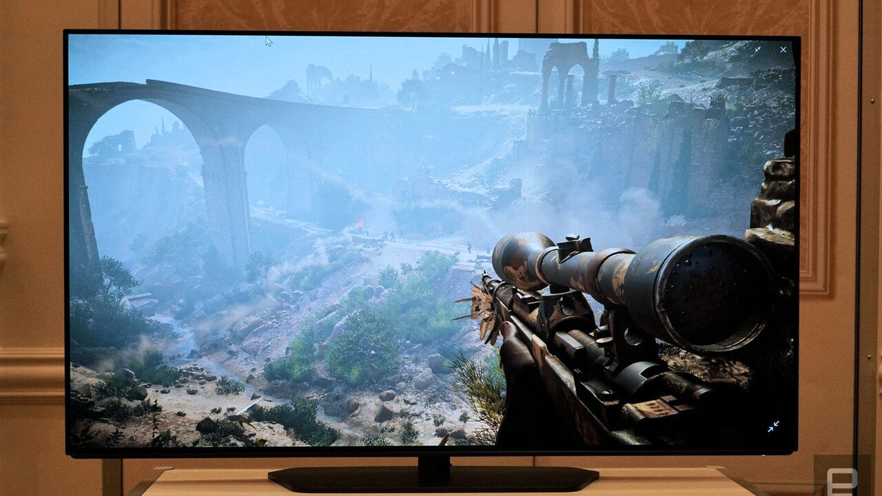 Alienware: Dells 55-Zoll-OLED-Monitor soll in Q4 erscheinen