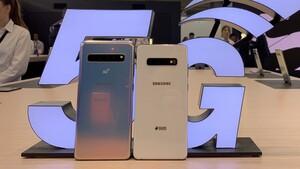 Samsung Galaxy S10 5G: 5G-Smartphone mit sechs Kameras kostet 1.200Euro