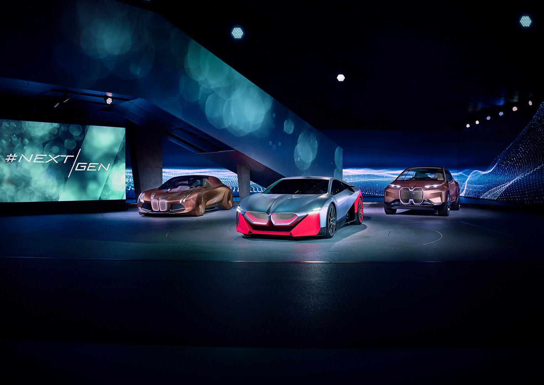 BMW Vision NEXT 100, Vision M NEXT und Vision iNEXT