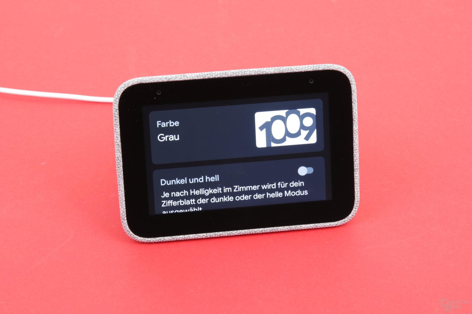 Lenovo Smart Clock: Zifferblätter zur Auswahl