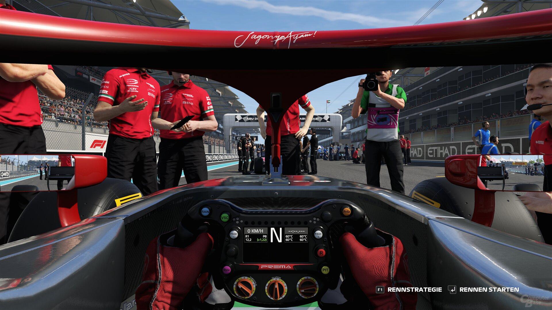 F1 2019 im Benchmark-Test