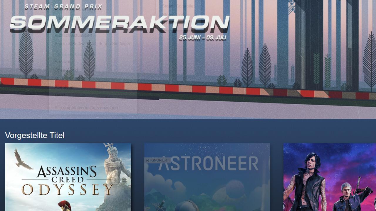 Spieleangebote: Steam Summer Sale 2019 gestartet