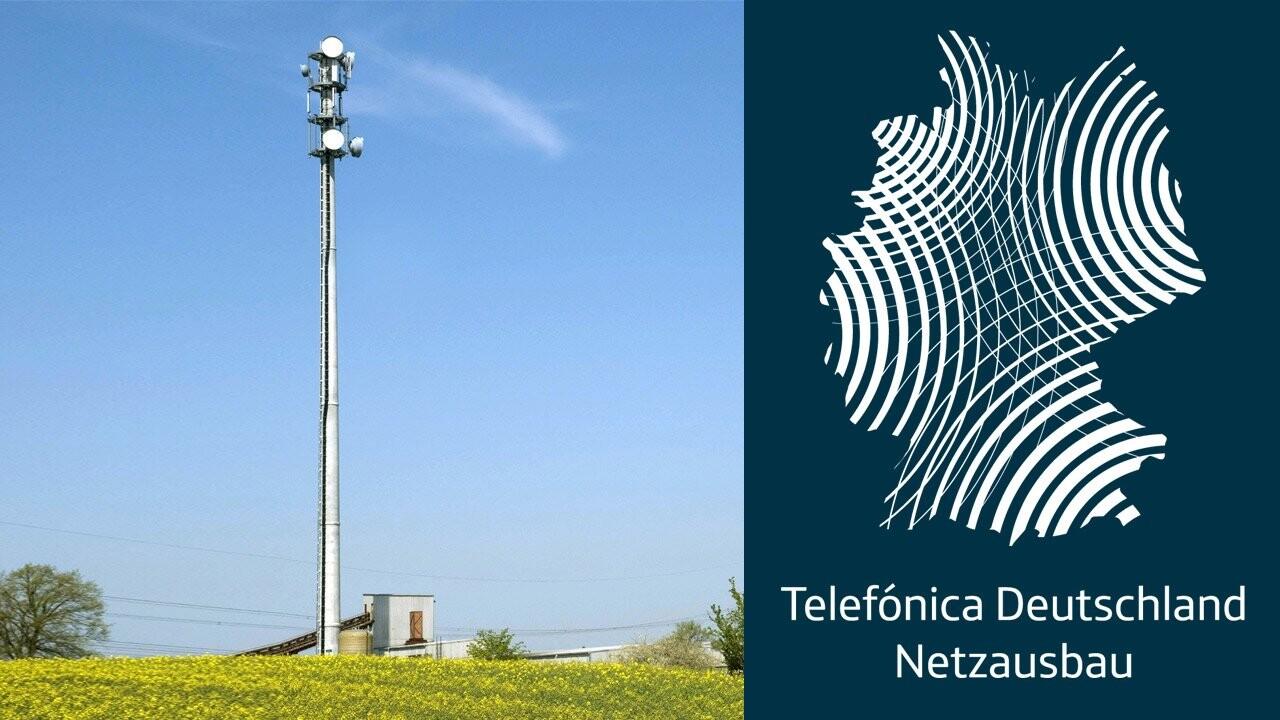 Telefónica: Neue Masten für verbesserte LTE-Abdeckung im O2-Netz