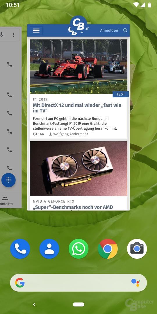 Die ComputerBase-App unter Android