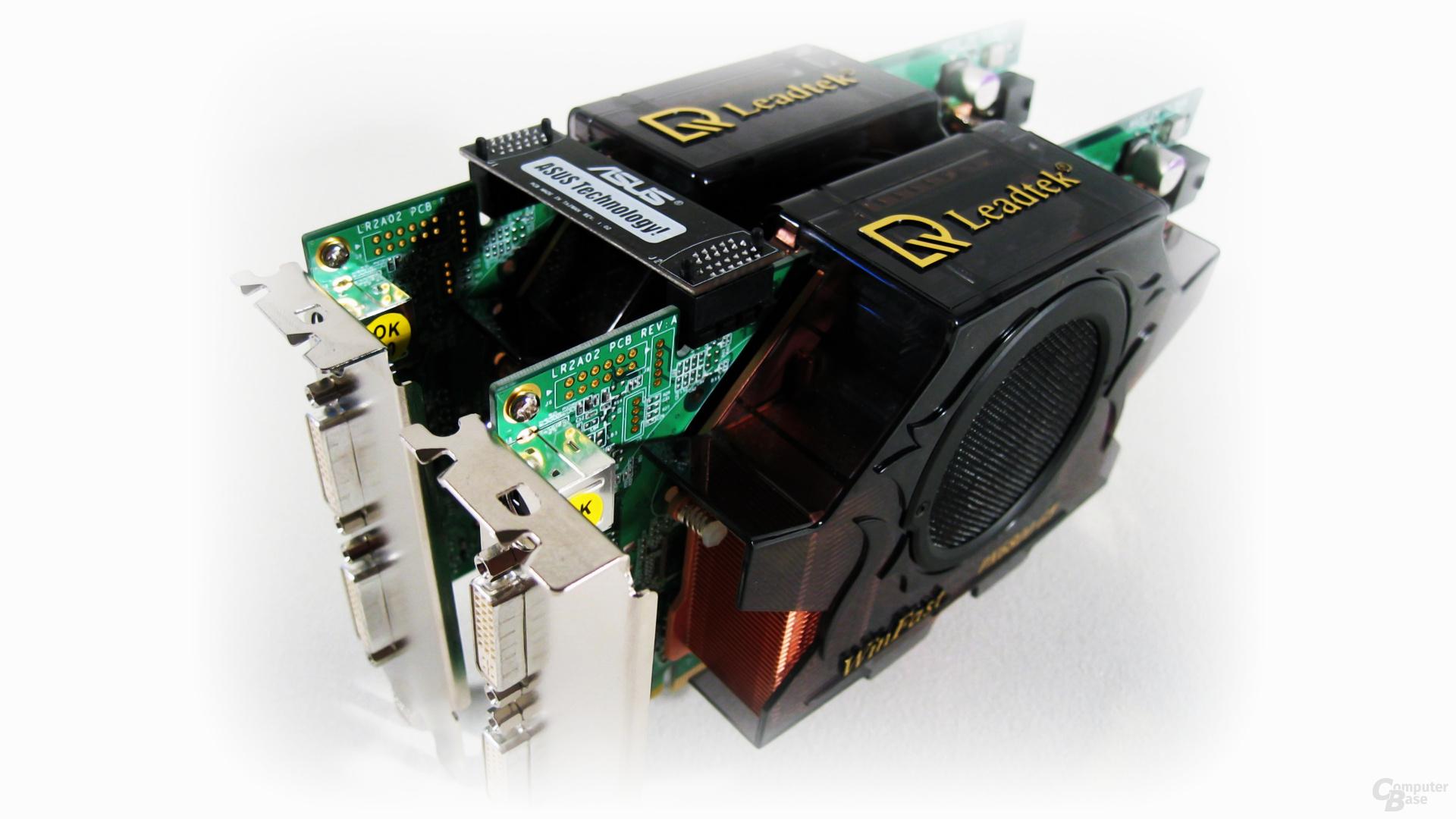2x Leadtek WinFast PX6800GT TDH SLI