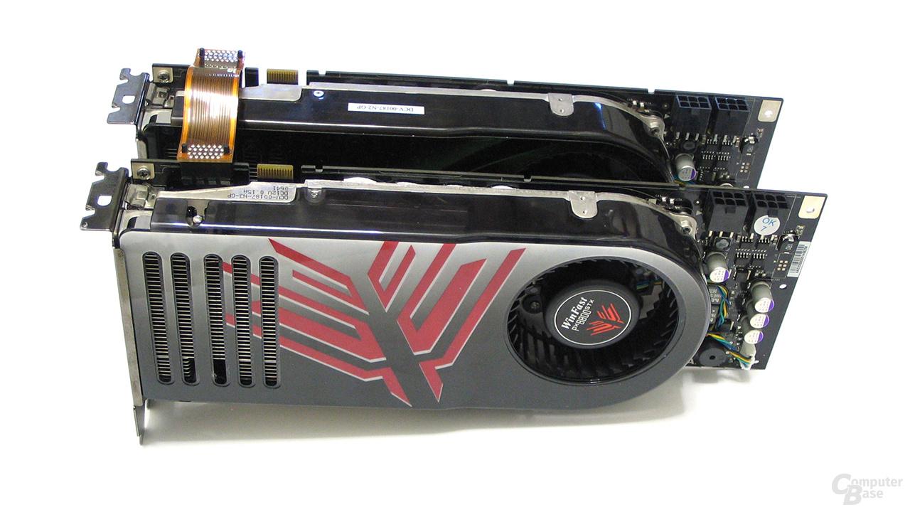 2x Leadtek WinFast PX8800 GTX SLI