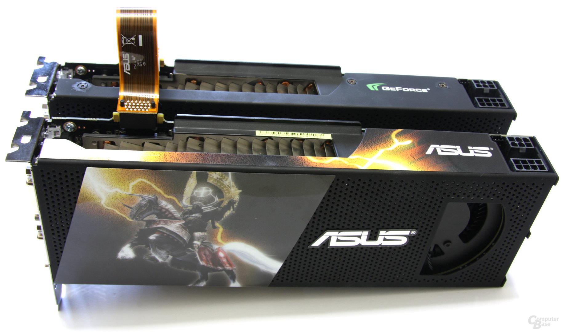 Quad-SLI mit 2x Nvidia GeForce GTX 295