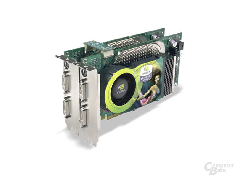 2x Nvidia GeForce 6800 Ultra SLI