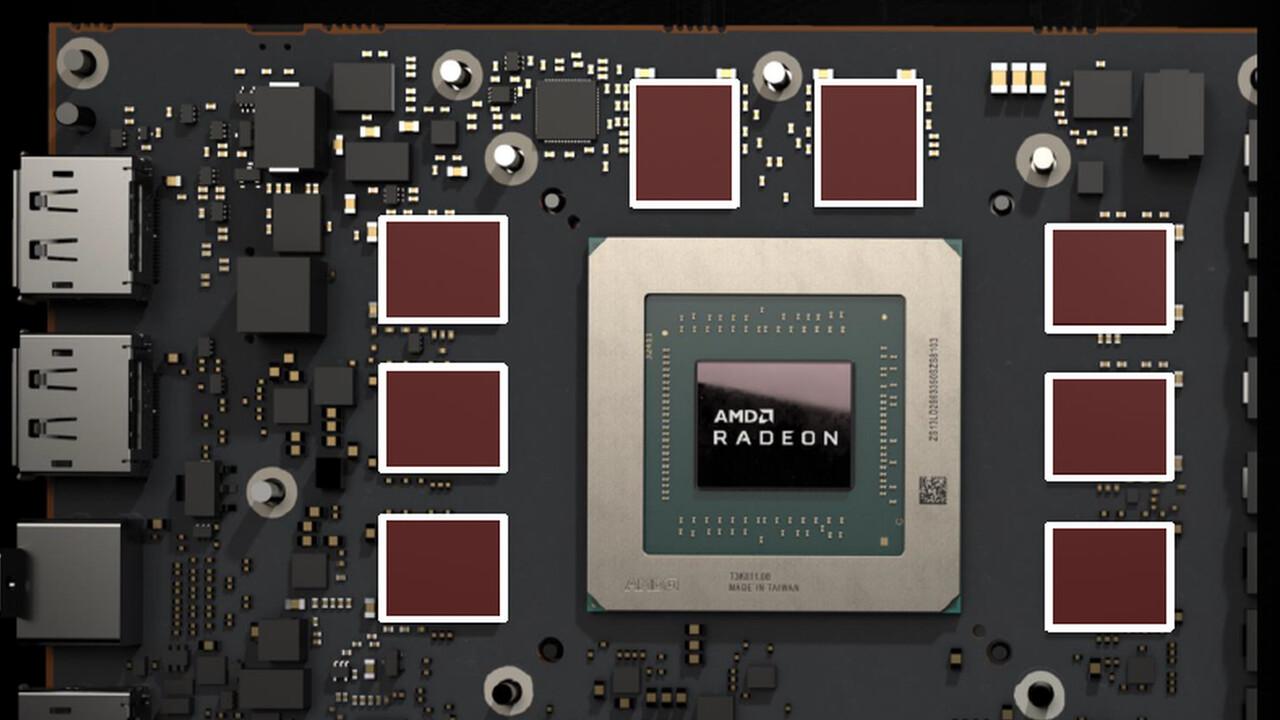 Radeon-Grafikkarten: RX 5950XT ist zumindest schon ein Platzhalter
