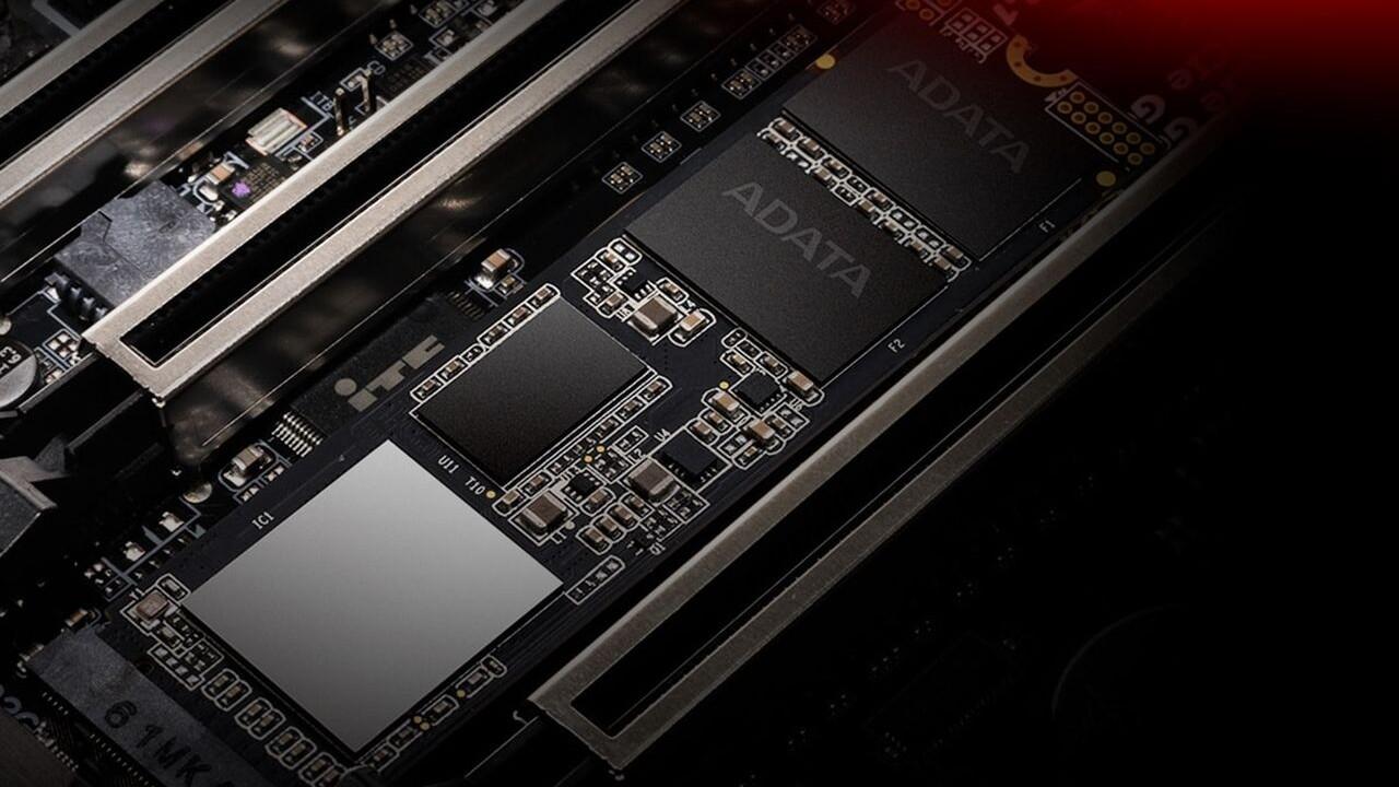 SX8200 Pro SSD: Adata lässt 2-TB-Version der schnellen NVMe-SSD folgen