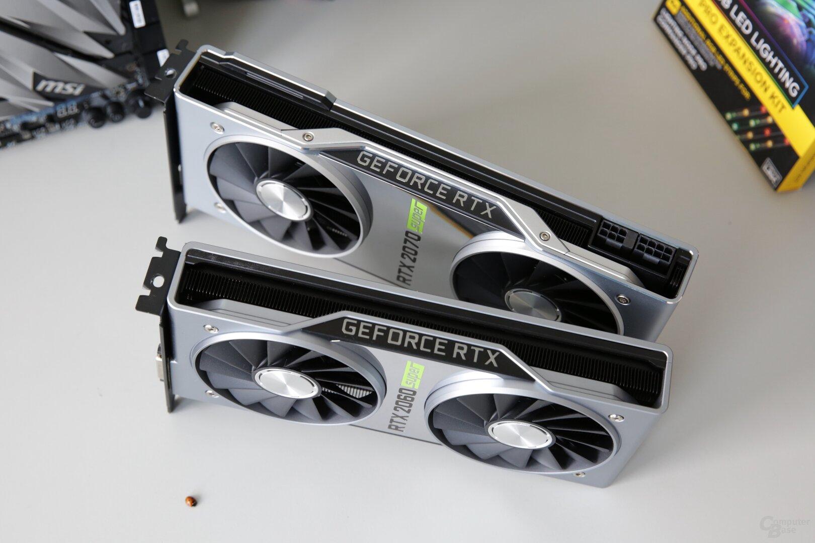 GeForce RTX 2060 Super und RTX 2070 Super im Test