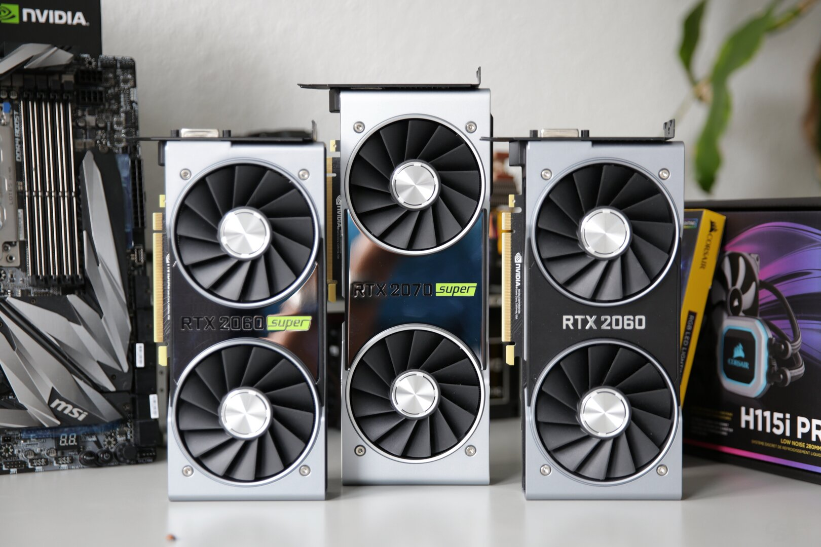 Nvidia Founders Edition: zwei Mal super, einmal normal