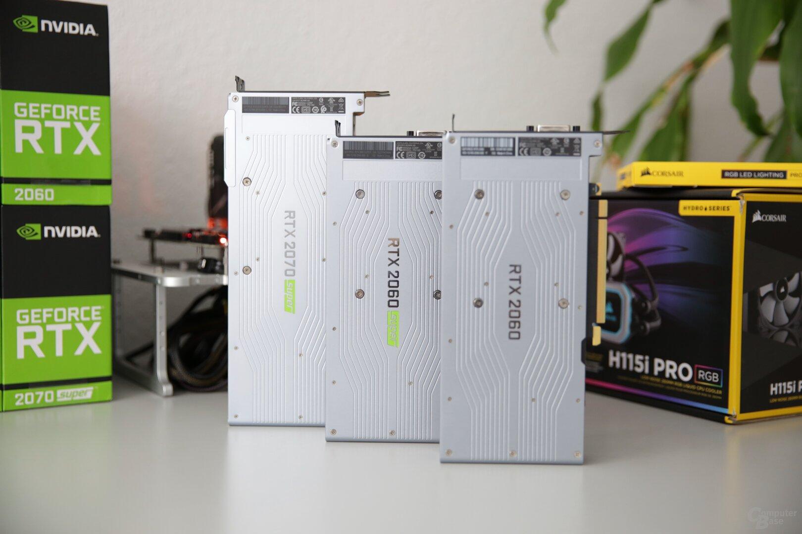 GeForce RTX: Zweimal super, einmal normal