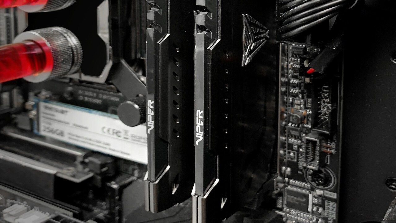 Patriot Viper Steel: DDR4-4400-RAM mit 16 GB kostet ohne LEDs 268 Euro