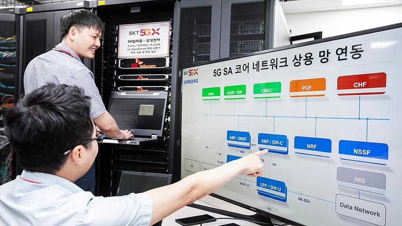Samsung und SK Telecom: Südkorea will nächstes Jahr 5G Standalone (SA) anbieten