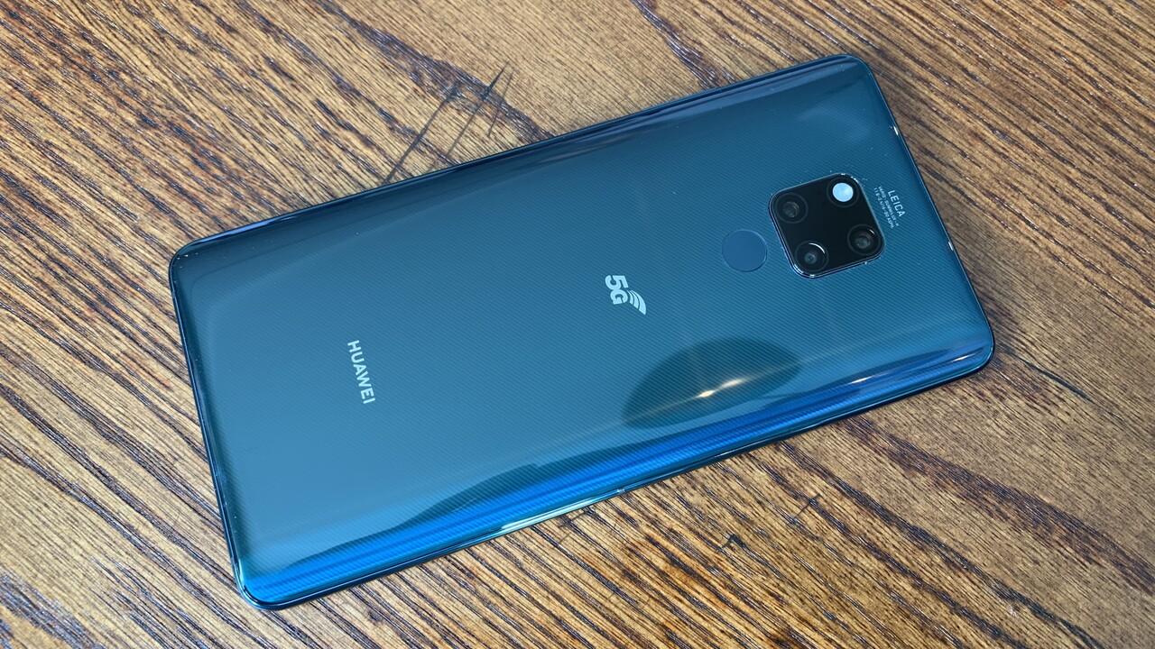 Mate 20 X 5G: Huaweis 7,2-Zoll-Smartphone mit 5G kostet 1.000Euro