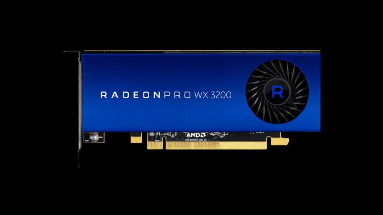 AMD Radeon Pro WX 3200: 50-Watt-Workstation-Grafikkarte im Small Form Factor