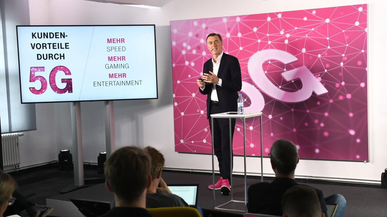 5G: Telekom erwartet deutlich höheren Datenverbrauch