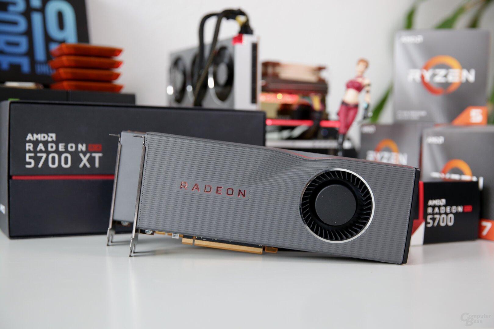 AMD Radeon RX 5700 (XT) mit Navi im Test