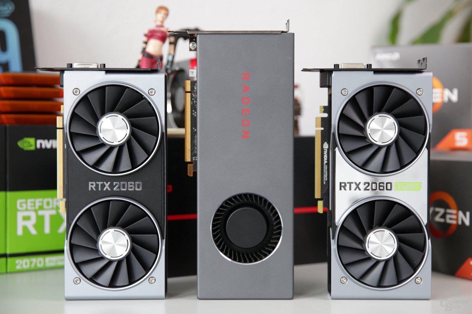 Radeon RX 5700 liegt bei der Leistung zwischen RTX 2060 und 2060 Super