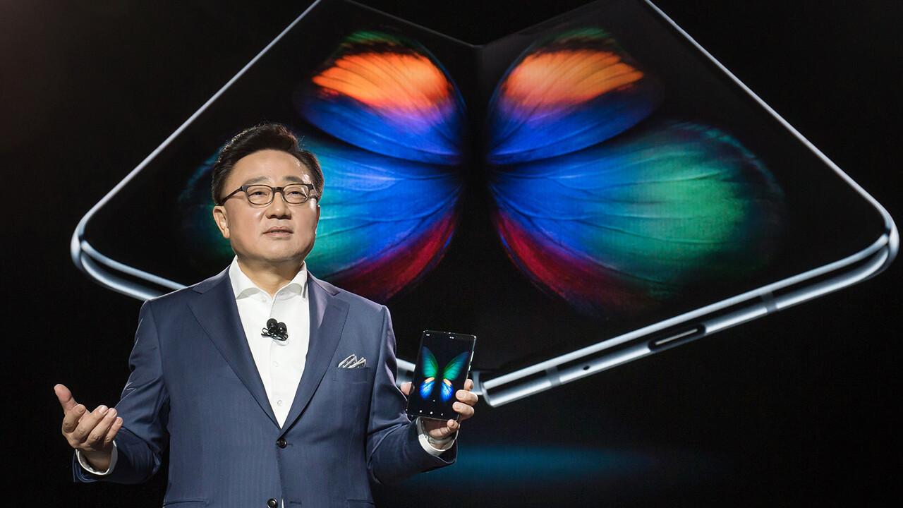 Samsung: Neues Scharnier und größere Folie sollen Galaxy Fold retten