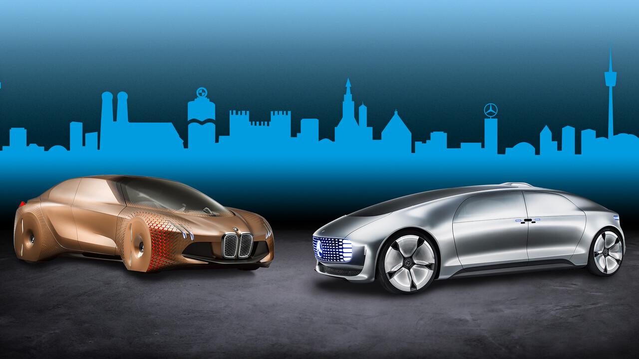 2024: BMW und Daimler kooperieren beim autonomen Fahren