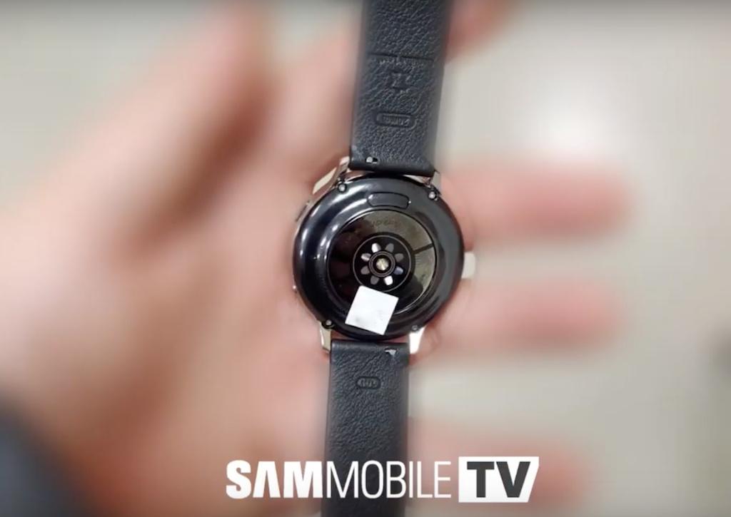 Das vermeintliche Design der Galaxy Watch Active 2