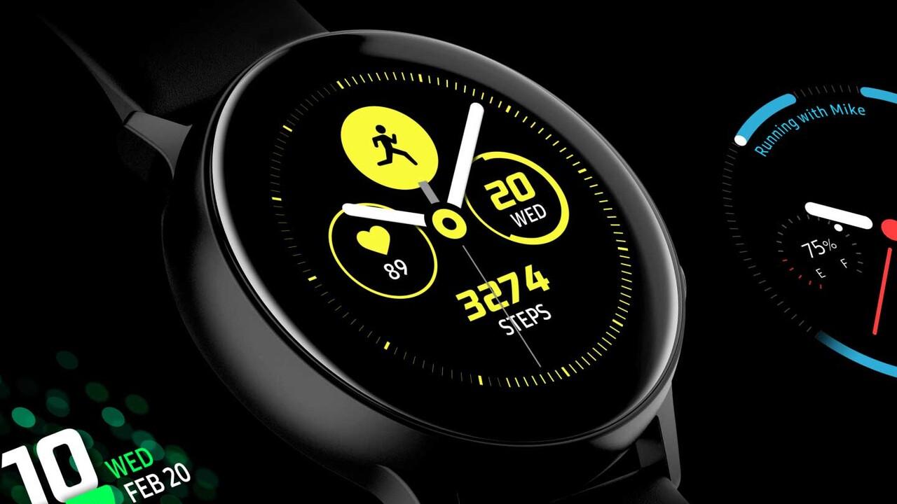 Samsung Galaxy Watch Active 2: Smartwatch soll EKG-Funktion besitzen