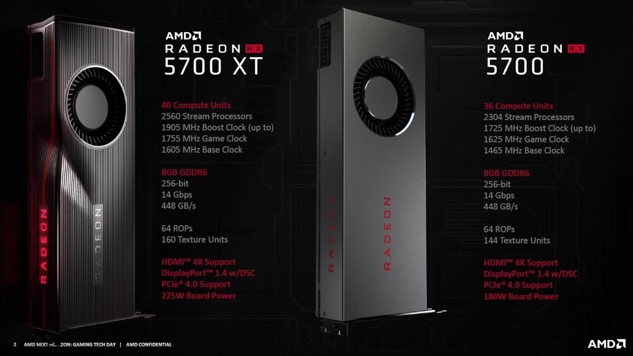 Radeon RX 5700 (XT): AMD senkt Preise noch vor Veröffentlichung