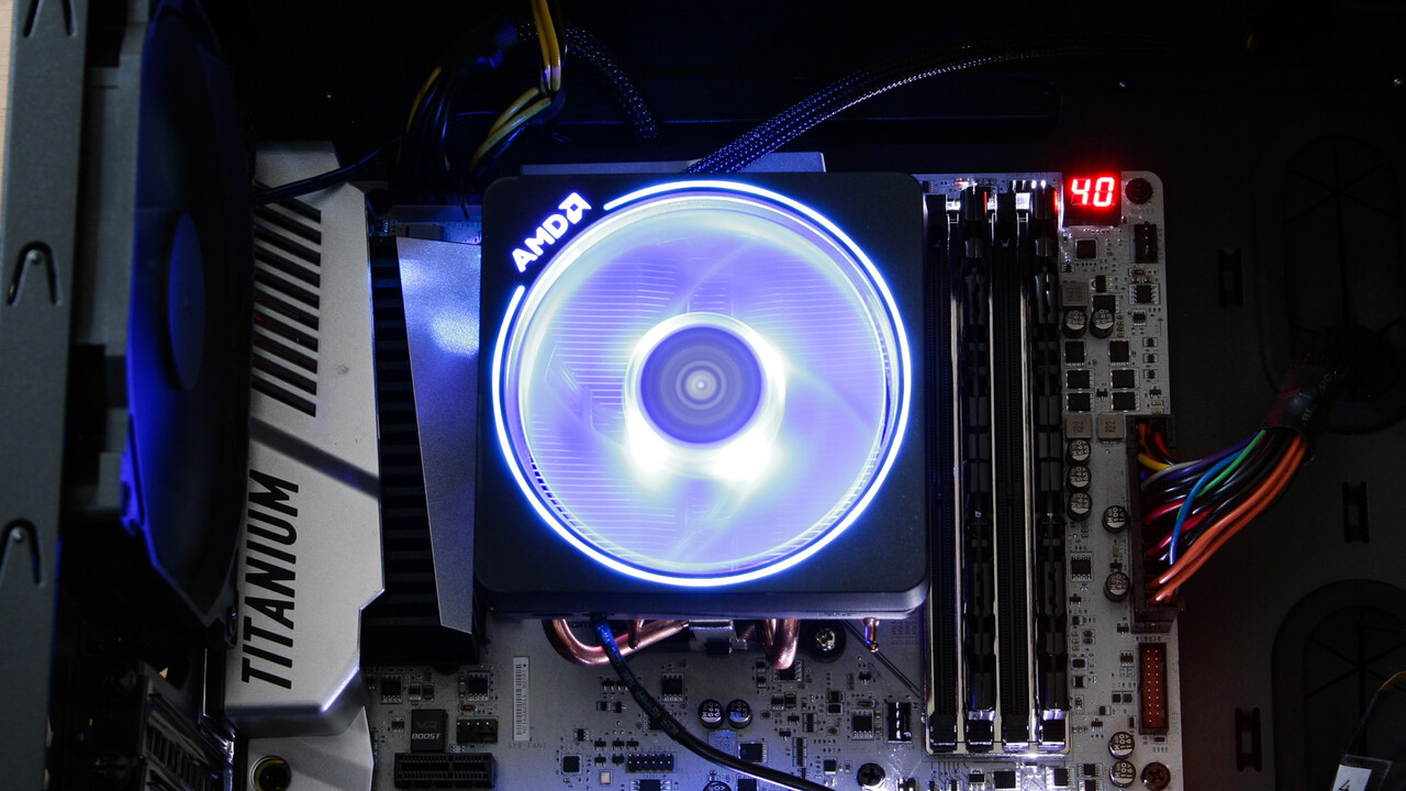 Wraith Prism: AMDs Boxed-Kühler nun mit Razer Chroma kompatibel