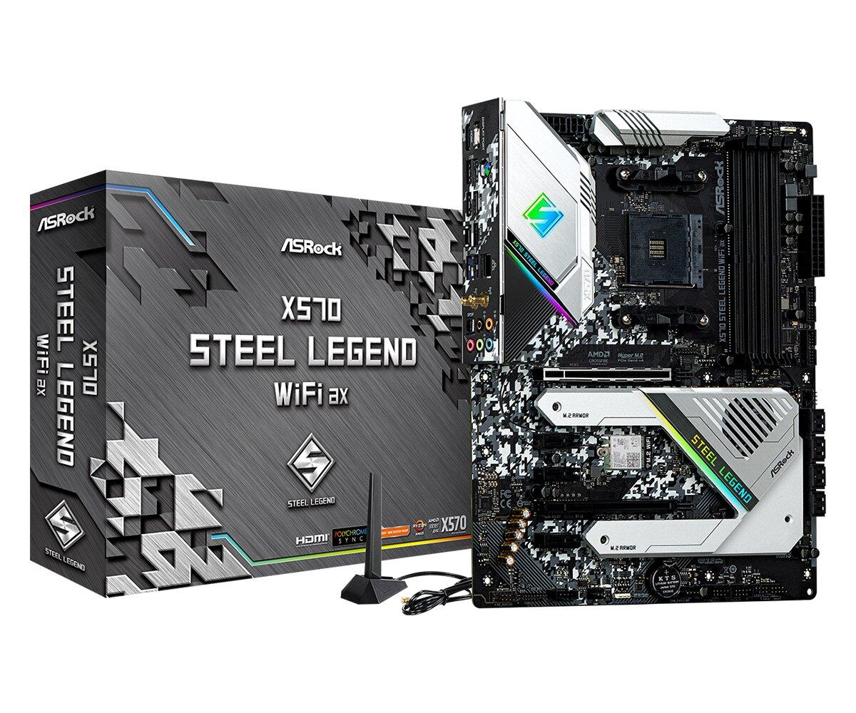 ASRock X570 Steel Legend WiFi ax