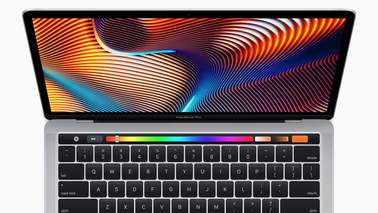 True Tone, Touch Bar, CPUs: Apple wertet MacBook Air und MacBook Pro auf