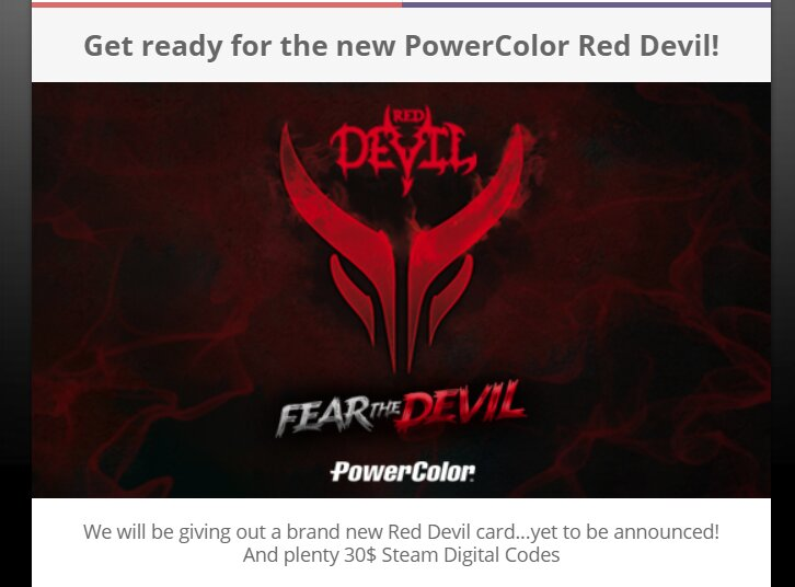 Neue PowerColor Red Devil (mit AMD Navi?)