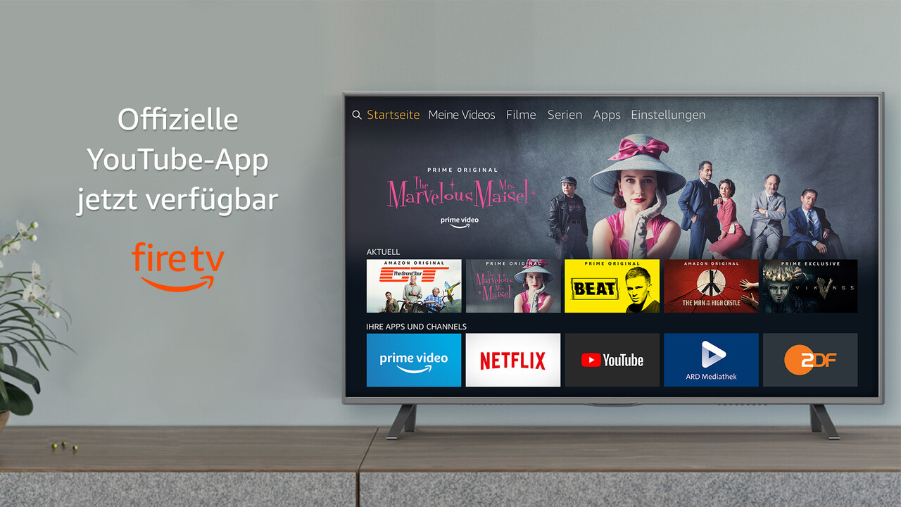 Amazon und Google: YouTube auf Fire TV und Prime Video auf Chromecast