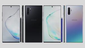 Samsung: Erste mutmaßlich offizielle Bilder des Galaxy Note 10