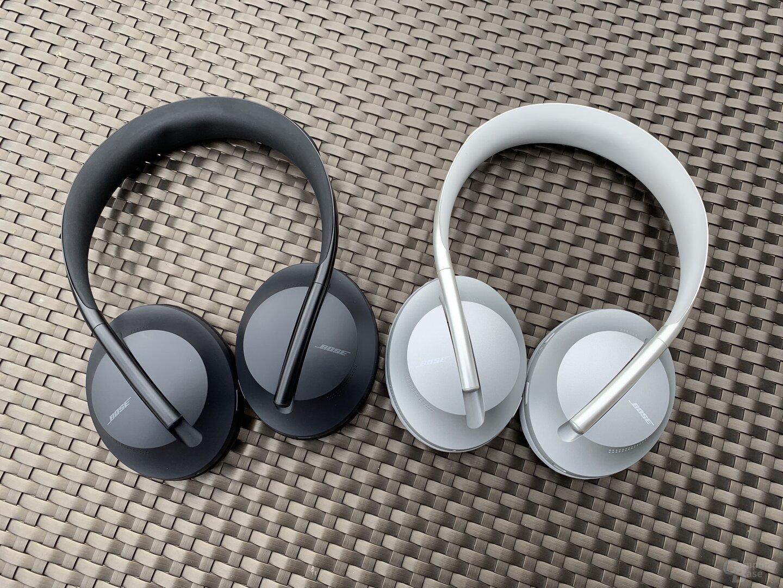 Bose Noise Cancelling Headphones 700 kommen in Schwarz und Silber
