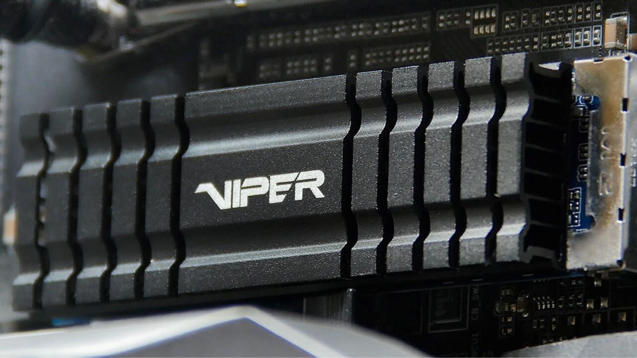 Patriot Viper VPN100 im Test: Schnelle NVMe-SSD mit Kühler für die Optik