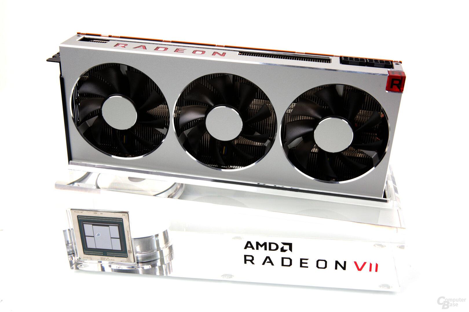 Die Radeon VII gibt es ausschließlich im Referenzdesign