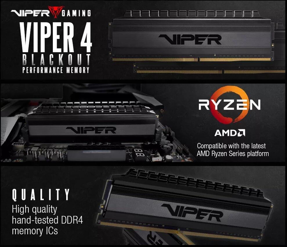 RAM für AMD-Ryzen (3000): G Skill mit 32 GB bei DDR4-3600, Patriot