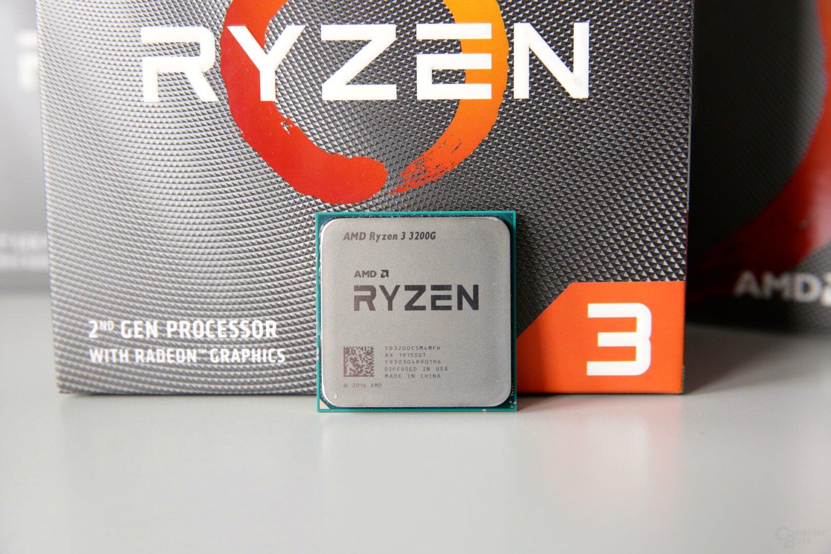 Der AMD Ryzen 3 3200G überzeugt