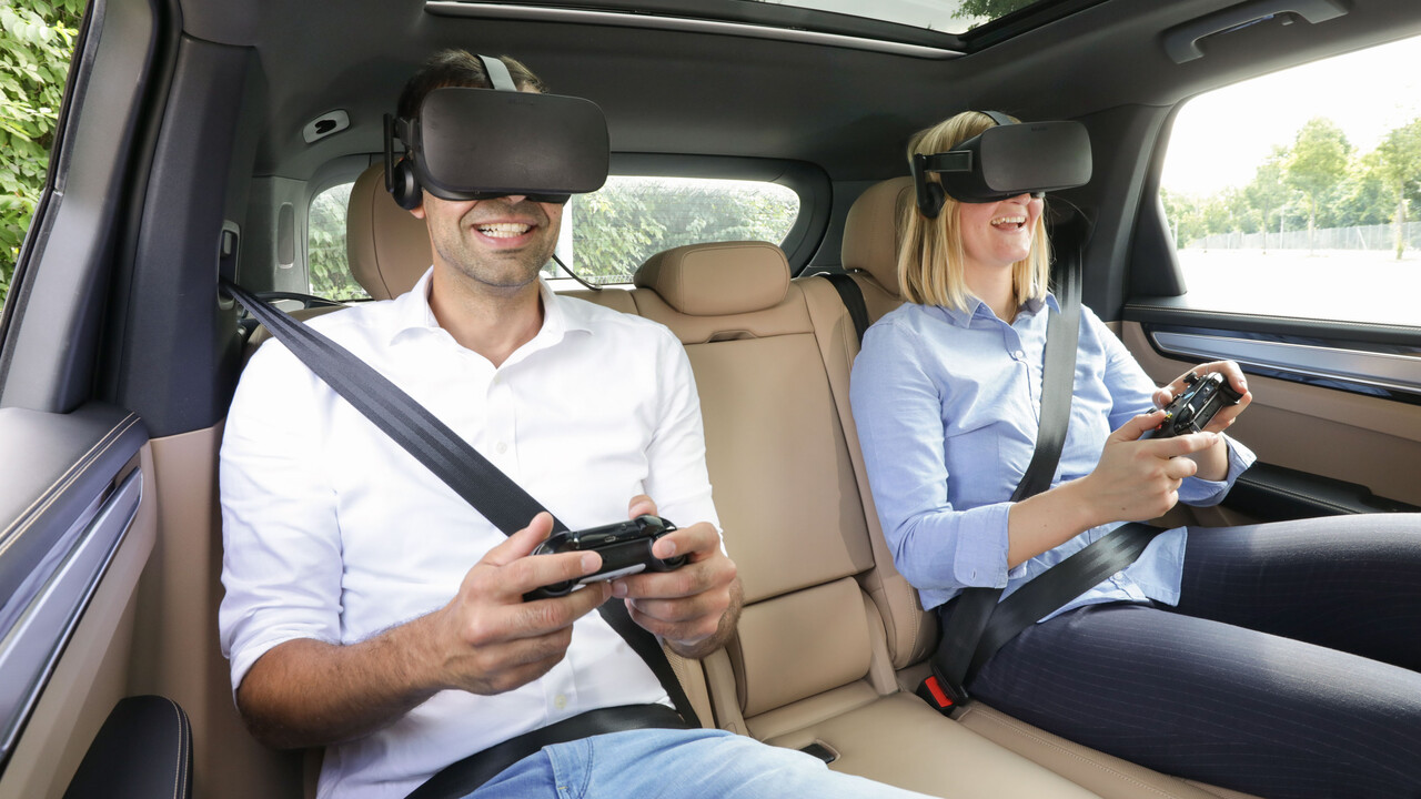 Holoride: Porsche macht den Rücksitz zum VR-Cockpit