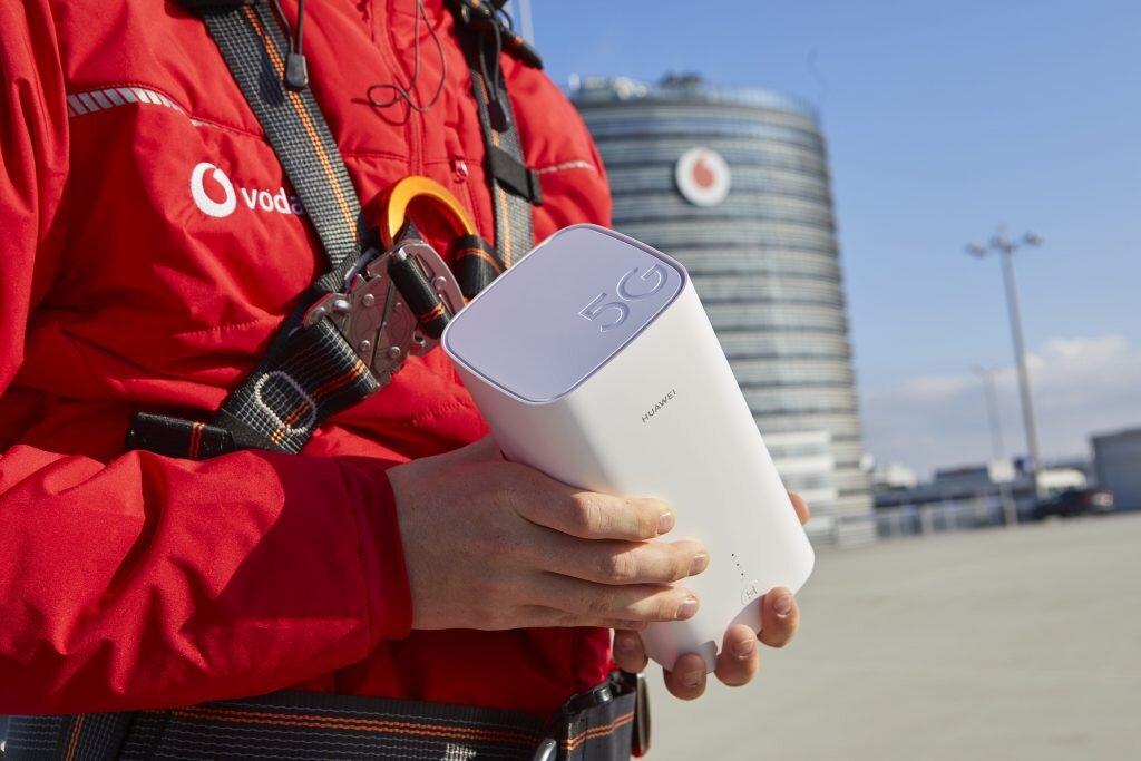 Vodafone GigaCube 5G von Huawei
